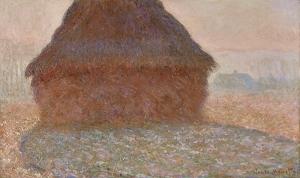 Claude Monet: La meule au soleil, 1981